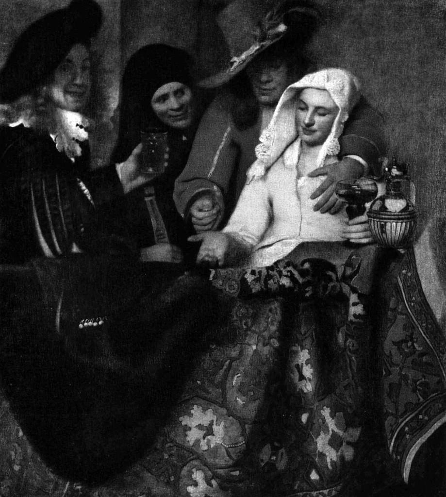 1632_De koppelaarster;Johannes Vermeer_a