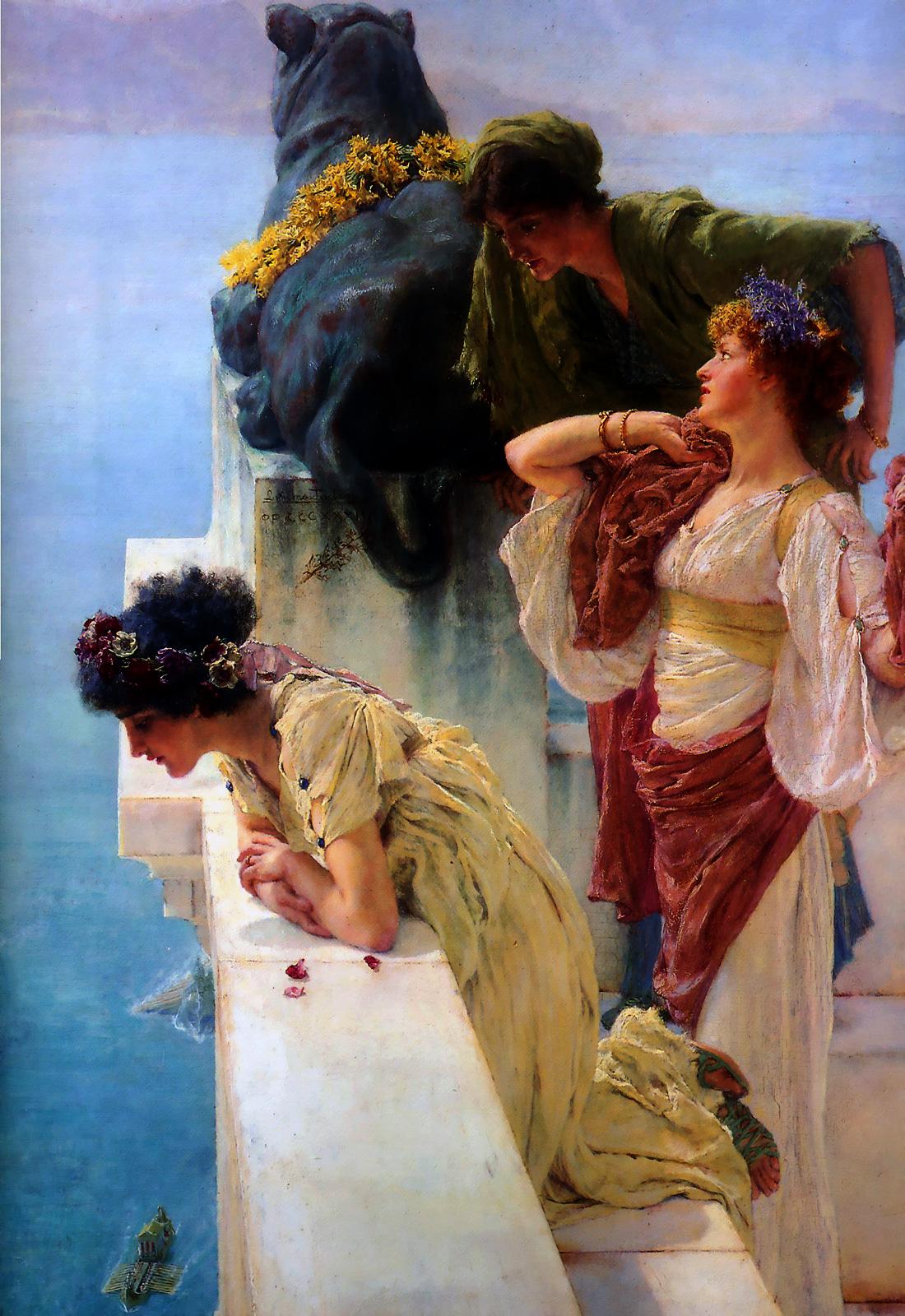 ARTWORK:0_002_Lawrence Alma-Tadema:A_coign_of_vantage