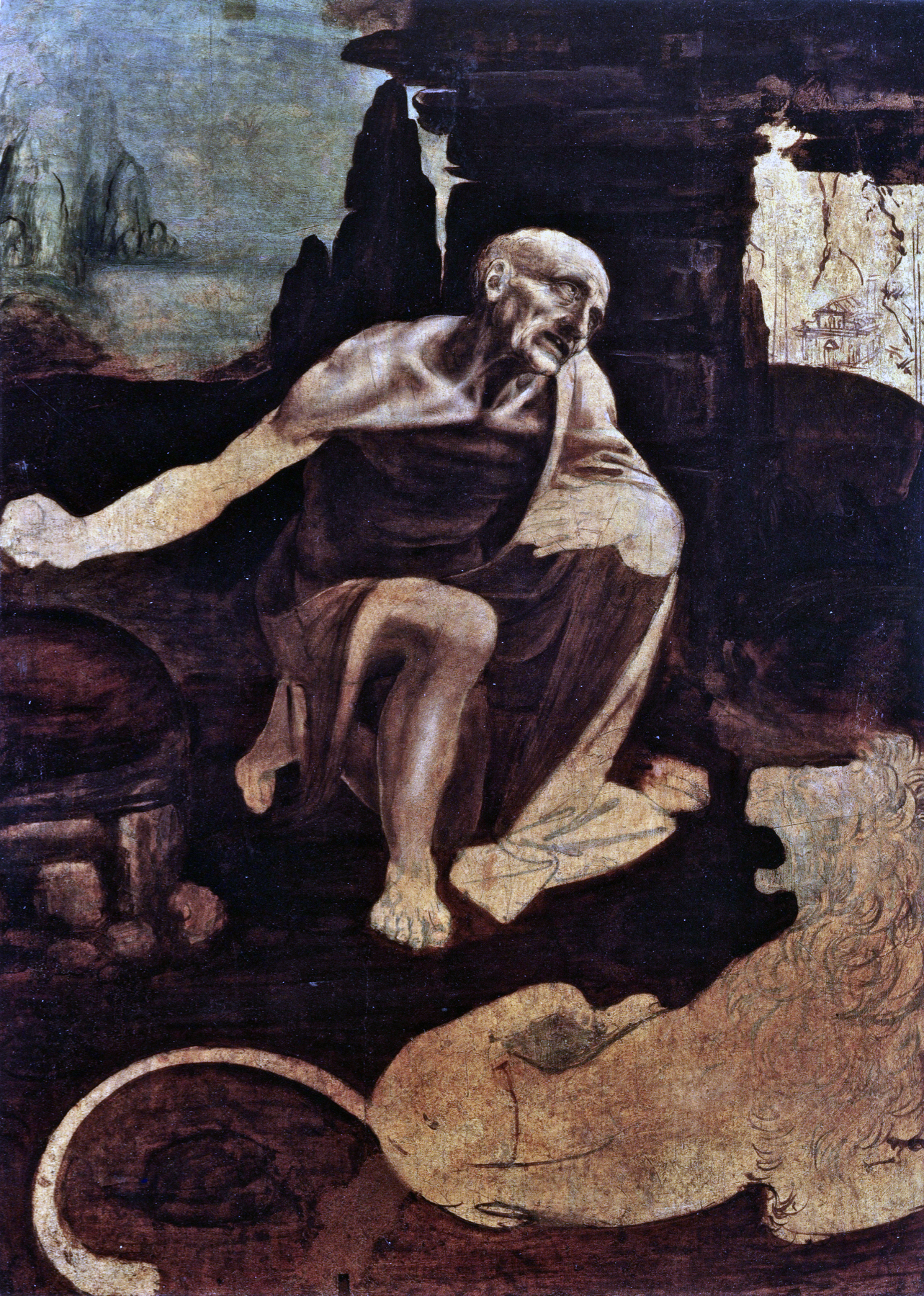 ARTWORK_1_010_ Leonardo da Vinci_St. Jerome in the Wilderness