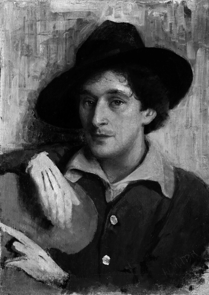 Yury Pen-Portrait of Marc_Chagall